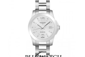 Longines Conquest Steel Lady Watch L33774766 34mm G