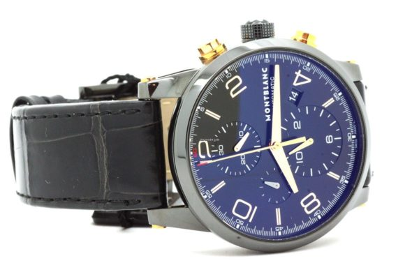 Montblanc TIMEWALKER DUAL CARBON CHRONOGRAPH AUTOMATIC 105805 » Plus Watch 629f34d393