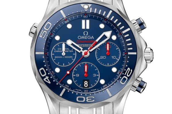 Omega Seamaster Diver 300M Co Axial Chronograph 44mm Blue Dial R