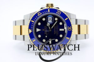 Rolex Submariner 116613 116613LB STEEL GOLD Blue 2017 4306
