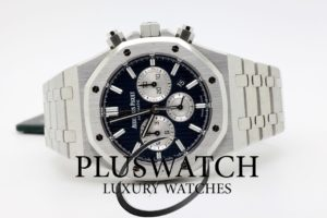 Audemars Piguet Royal Oak Chronograph 41mm Blue Boutique Edition 26331ST GF