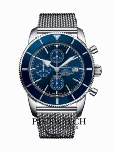 Breitling Superocean Heritage II 46mm Chronograph Blue A1331216 T