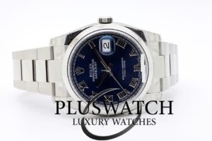 Rolex Datejust 116200 36MM Blue Dial T