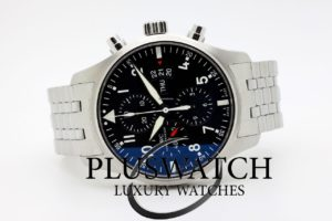 IWC Pilot Pilot's Chronograph IW377704 4290 JUST SERVICED