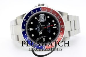 Rolex GMT-Master II 16710 40 MM Ser. F 2004 4376 JUST SERVICED