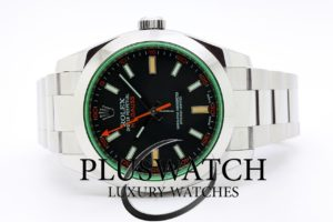 Rolex Milgauss 116400 GREEN GLASS 40mm 4310
