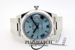 Rolex Day-Date Oyster 40mm Platino 228206