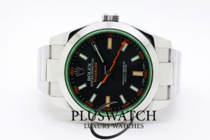 Rolex Milgauss 116400 GREEN GLASS 40mm 2012 4646