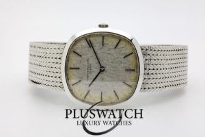 Patek Philippe 18K Solid White Gold 3544 Golden Ellipse 1968 4650