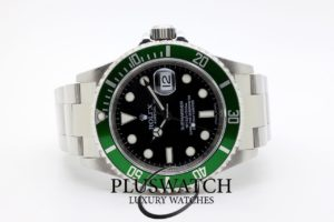 Rolex Submariner 16610LV Green Bezel 2009 4612 JUST SERVICED