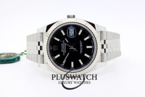 Rolex Datejust Oyster Perpetual 41mm Black Dial 126334 01/2019
