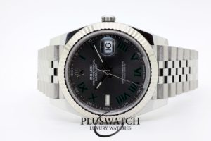 Rolex Datejust Oyster Perpetual 41mm Silver Dial Jubilee