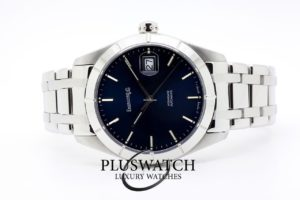 Eberhard & Co. Aquadate 39 mm Blue Dial Automatic 41015 03/2017