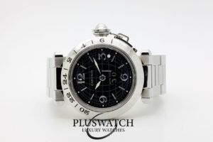 Cartier Pasha GMT Big Date 35mm Black Dial 5051
