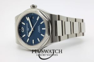 Girard Perregaux Laureato 38mm Steel Automatic Blue Dial Mint Condition 5117