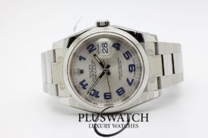 Rolex Datejust 116200 06/2016 36mm Silver Dial Arabic Number 5120
