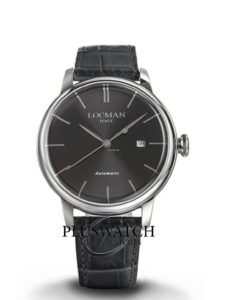 Locman 1960 Solo Tempo Automatic 44 mm 021200KY-BKKSIY