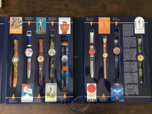 Swatch Historical Olympic Games Collection Special Edition