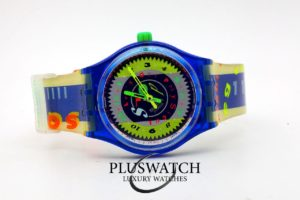 Swatch TIME CUP 39mm Quartz Stop D