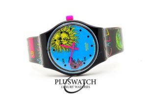 Swatch EUROPE IN CONCERT SLB101 Music Call 36,70mm Quartz D