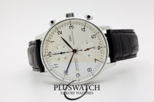 IWC Portoghese Chronograph 41mm 03/2006 5816 JUST SERVICED