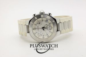 Cartier Must 21 Chronoscaph 32mm Quartz Lady 5945
