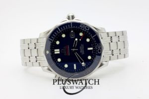 Omega Seamaster 300 Blue Blu Co-Axial Diver Blue 04/2017 5926