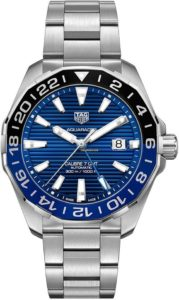 TAG Heuer Aquaracer GMT 43mm Blue Dial WAY201T.BA0927 CA