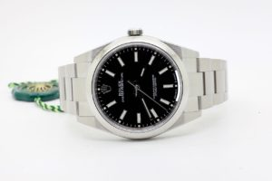 Rolex OYSTER PERPETUAL 39 mm Black 114300 10/2019