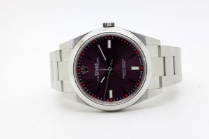 Rolex OYSTER PERPETUAL 39 mm Red Grape 114300 10/2016 6482
