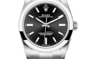 Rolex Oyster Perpetual 34mm Black Dial 124200