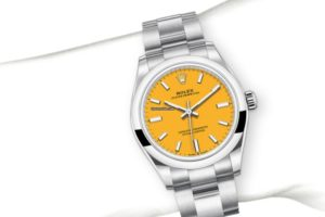 Rolex Oyster Perpetual 31mm Dial Yellow 2020 277200