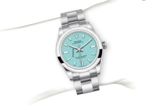 Rolex Oyster Perpetual 31mm Dial Turquoise 2020 277200