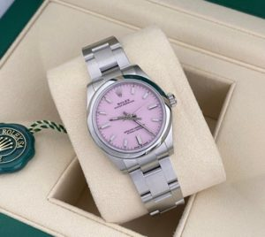 Rolex Oyster Perpetual 31mm Dial Candy Pink 2020 277200