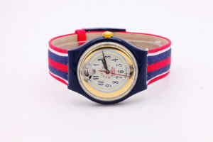 Swatch TIME & STRIPES Automatic SAN105