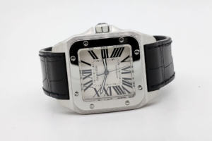 Cartier Santos 100 XL 51,1 x 41,3mm 04/12/2004 7452 MINT CONDITION