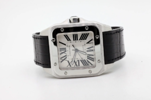 Cartier Santos 100 XL 51,1 x 41,3mm 19/12/2012 7272 MINT CONDITION