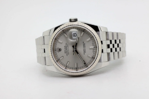 Rolex Datejust 116234 Silver Dial 19/12/2018 8325 Like NEW